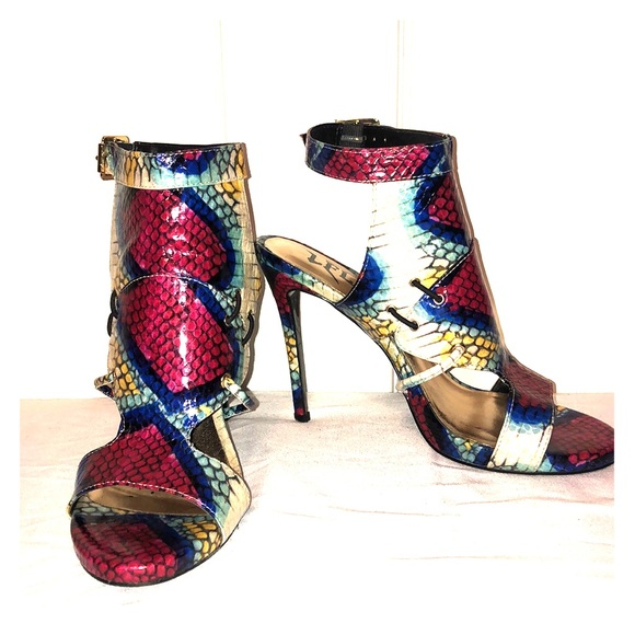 Shoes - LFL 🐍 Snake Print Heels 🐍